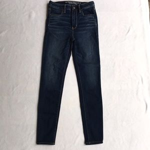 American eagle sore high rise jegging Size 4